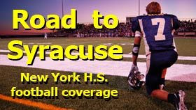 Road to Syracuse football website